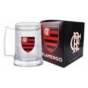 Caneca Gel Incolor Escudo Flamengo