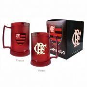 Caneca Gel Vermelha Escudo Flamengo Ref 4071