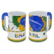 Caneca Gigantes do Brasil Grande Brasil Ceramarte