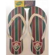 Chinelo Fluminense Manto Tricolor 1 Feminino bec416e099b99