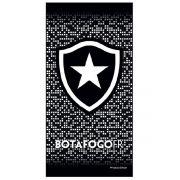 Toalha Botafogo Banho Veludo Estampada 207551