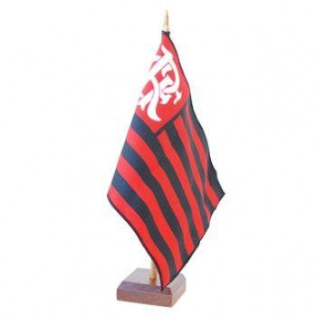 006d93224b Bandeira de Mesa Flamengo - Só Torcedor - Apaixonados por Futebol