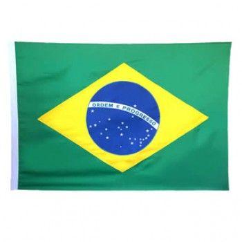Bandeira do Brasil Mastro Mitraud de 1 Pano a 4 Panos
