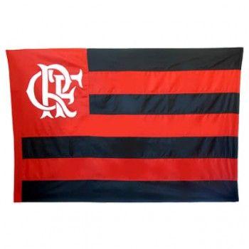 Bandeira Flamengo Mastro Mitraud de 1 Pano a 4 Panos
