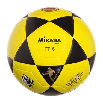 Bola Futevôlei Mikasa Ft-5 Amarela E Preta