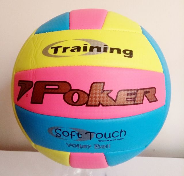 """Bola Volley Ball Training Neon """"PVC"""" Tricolor"""