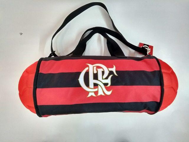 Bolsa Alça Tiracolo  Bola Flamengo  Grande