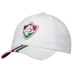 Boné  Fluminense Futebol Aba Curva Snapback BR faixa tricolor