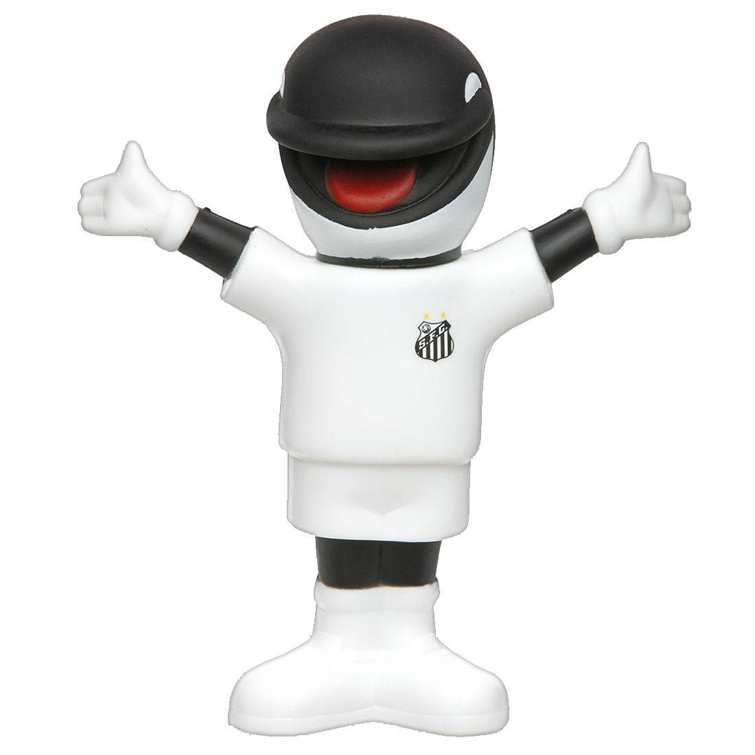 Boneco Mascote Santos - Baleia