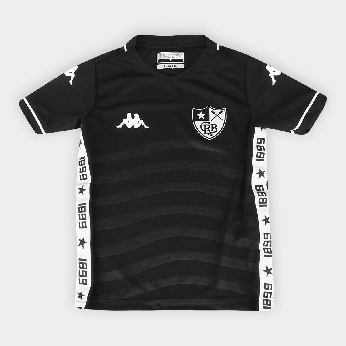Camisa Botafogo Kappa 2019 Jogo II Preta