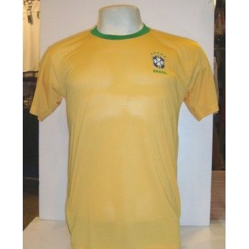 Camisa CBF Retrô Dry Fit