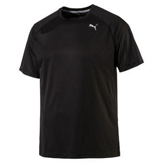 Camisa Puma Dry-cell Preta Core-Run S S Tee b85f5e6fed1a9