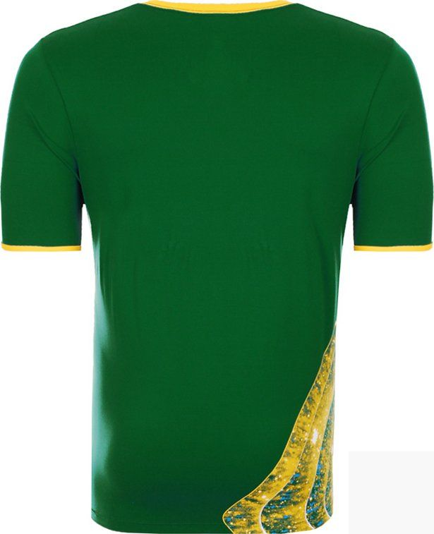 Camisa do Brasil Verde Olympikus Vôlei 2016 Masculina