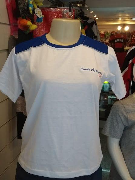 Camisa Ensino Médio Algodão - Uniforme Colégio Santo Agostinho