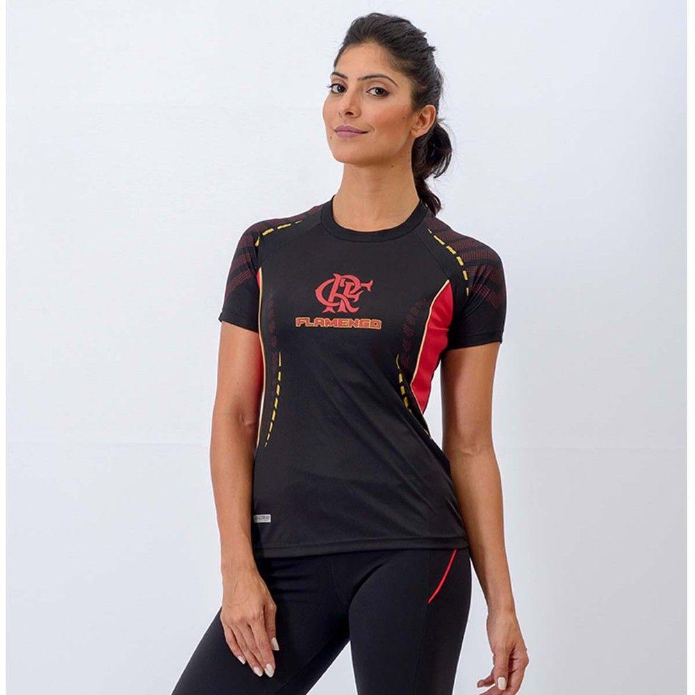 ade291a3d4 Camisa Feminina Flamengo Orion Raglan