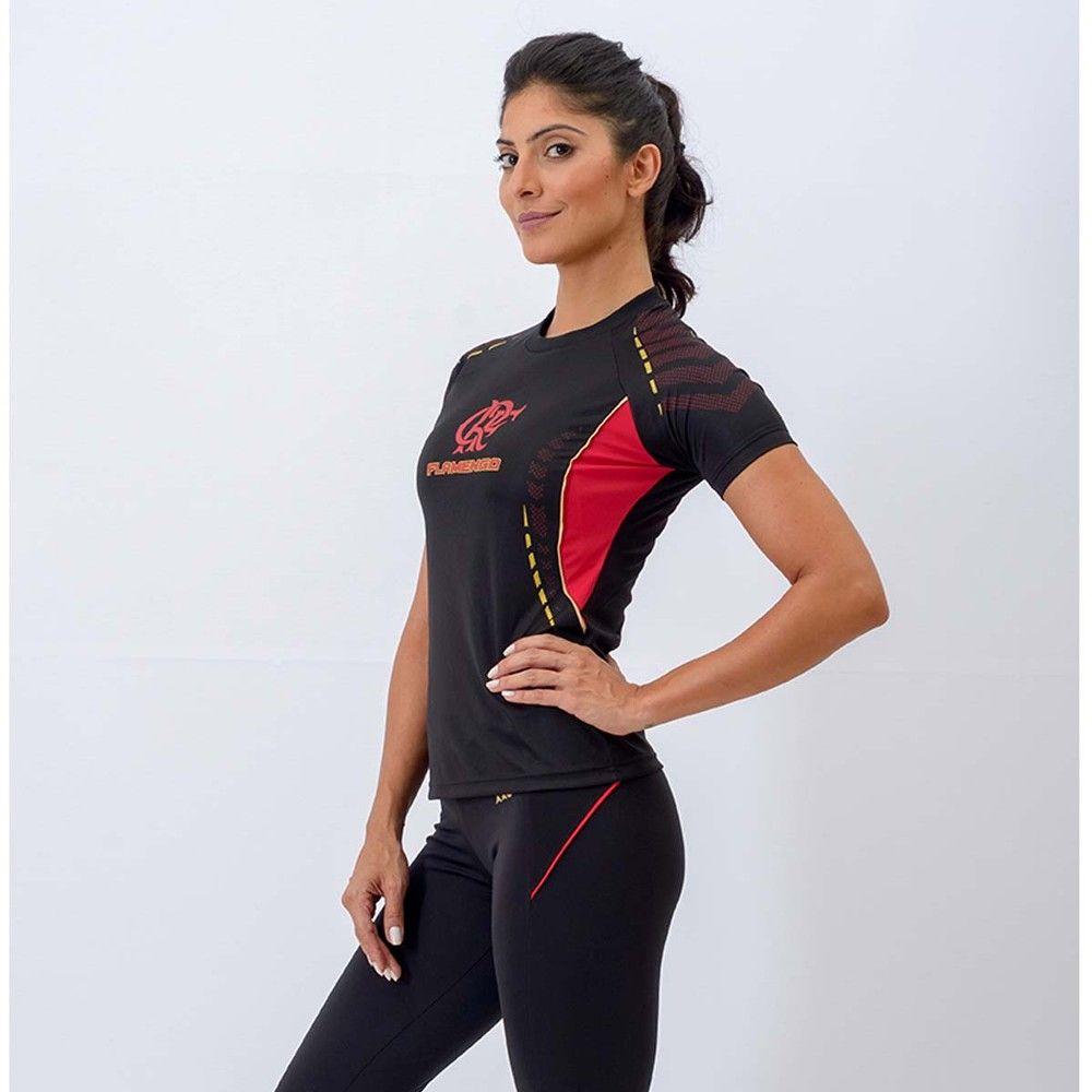 Camisa Feminina Flamengo Orion Raglan