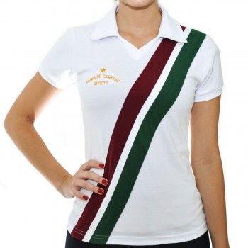 Camisa Feminina Tricolor RJ 1908 Reserva