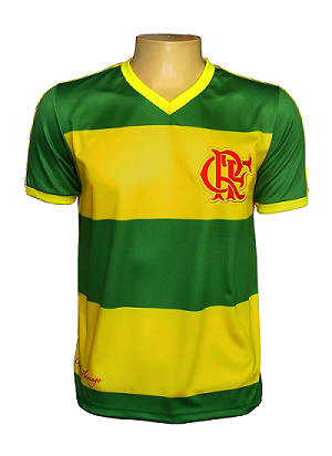Camisa Braziline Flamengo Brasil Hexa Masculina