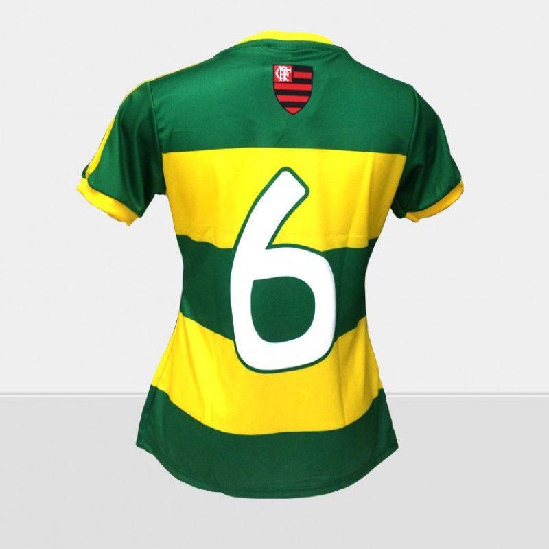 320187dcd1 ... Camisa Braziline Flamengo Brasil Feminina - Só Torcedor - Apaixonados  por Futebol ...