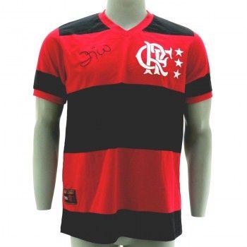 Camisa Flamengo Libertadores 1981 Zico Número 10