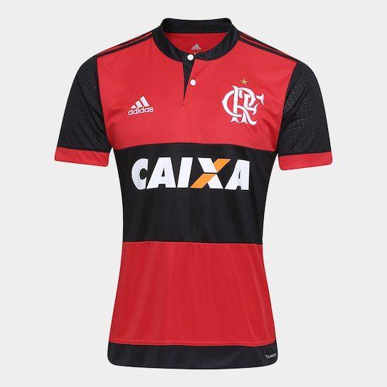 Camisa Flamengo Oficial Jogo 1 Adidas 2017