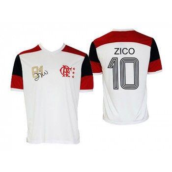 Camisa Flamengo Zico Mundial 81 Número 10