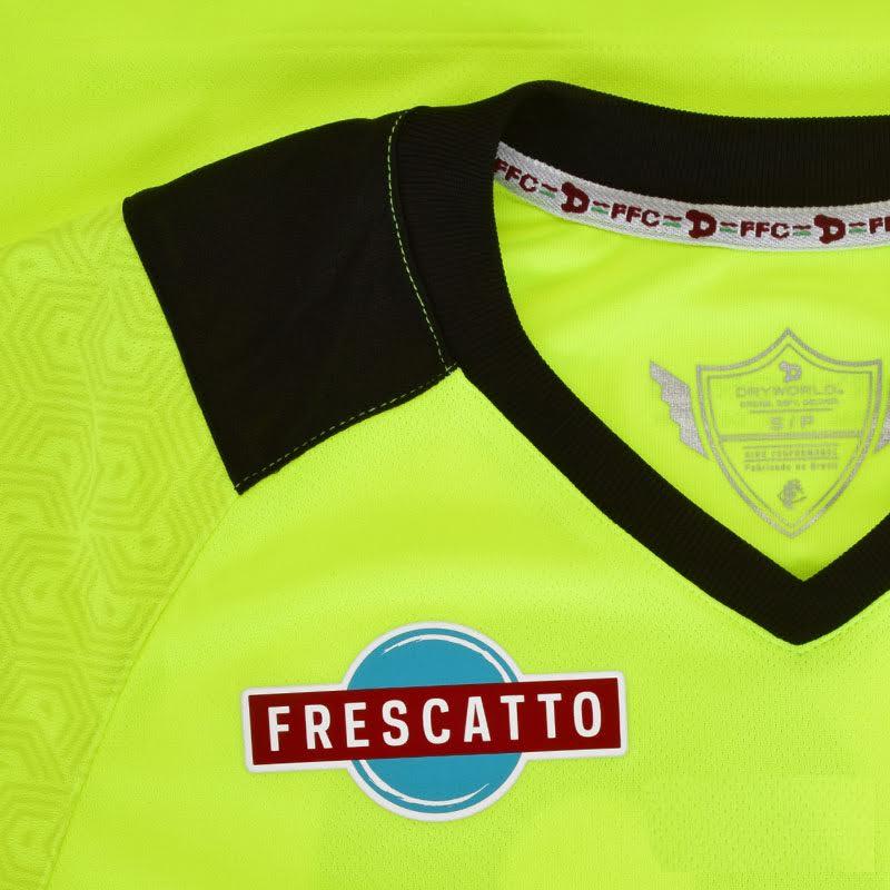 Camisa Fluminense 2 Goleiro Dry World Nº 12 1F015