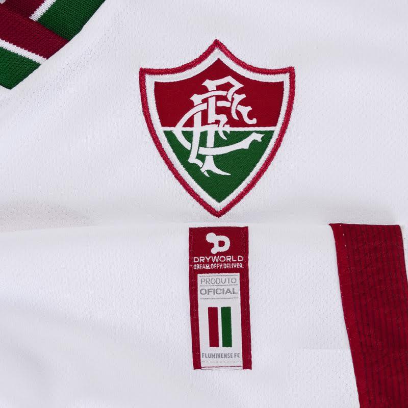 Camisa Fluminense 2 Torcedor Dry World Nº 10 1F007