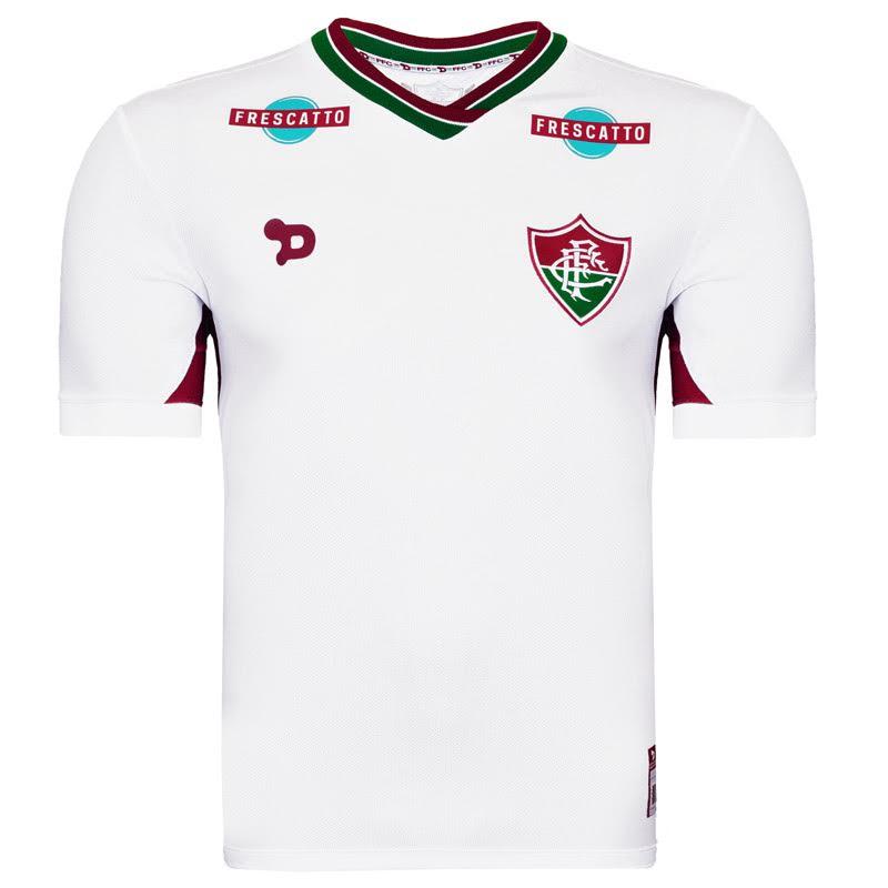 Camisa Fluminense 2 Torcedor Dry World Nº 9 Infantil e Adulto 1F007