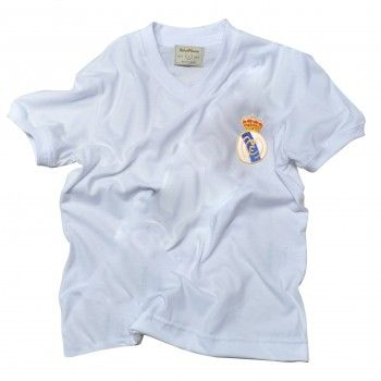 Camisa Infantil Real Madrid 1960