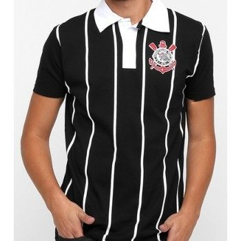 Camisa Pólo Corinthians Team Way