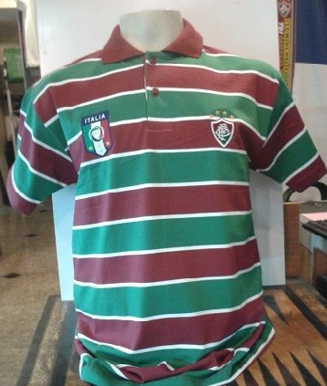 Camisa Polo Fluminense Itália - Uma Nação Tricolor
