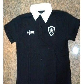 Camisa Polo Preta Botafogo Cód 98040