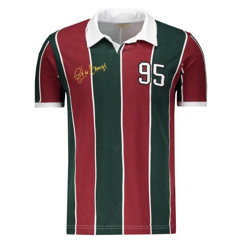 Camisa Polo Retromania Tricolor Carioca 1995 Gol de Barriga