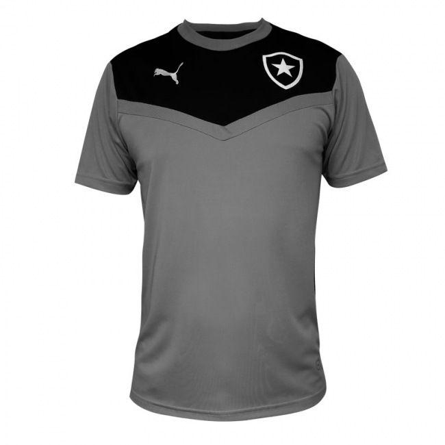 Camisa Botafogo Puma Treino 2015 Branca / Preta