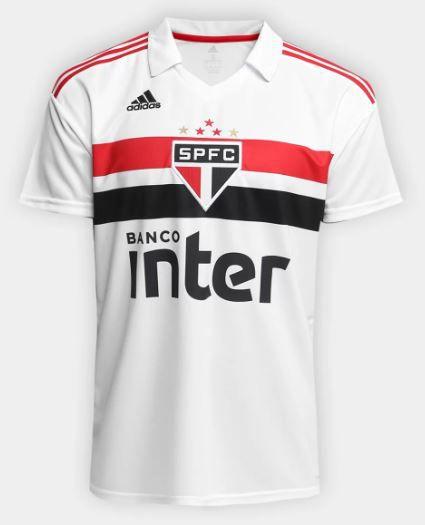 Camisa São Paulo Adidas 2018 Torcedor