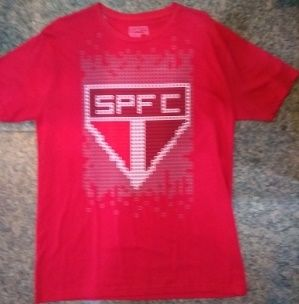 Camisa São Paulo Quadriculada