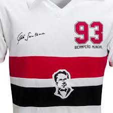 Camisa Tele Santana Branca 93 - Mundial