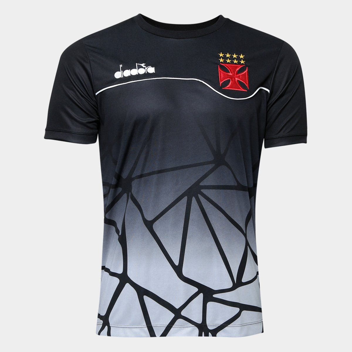 Camisa Vasco Concentração Preta 2018