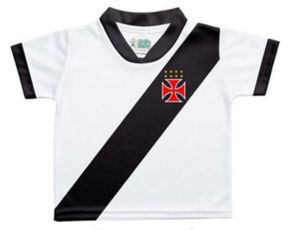 Camisa Vasco da Gama 2 Torcida Baby Branca