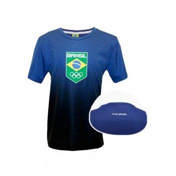 Camiseta Infantil Time Brasil Garra Rio 2016