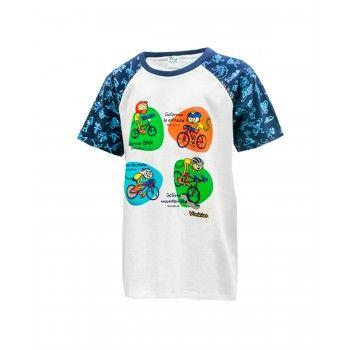 Camiseta Infantil Vinícius Bicicleta Rio 2016