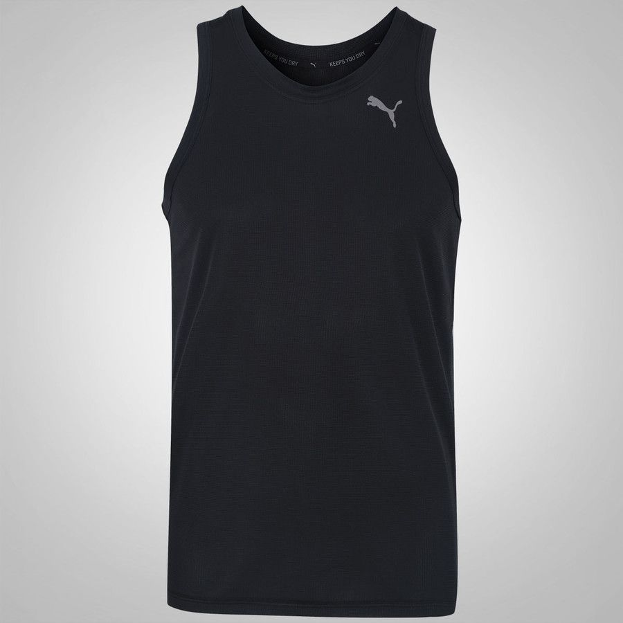 Camiseta Puma Core Run Singlet Preta