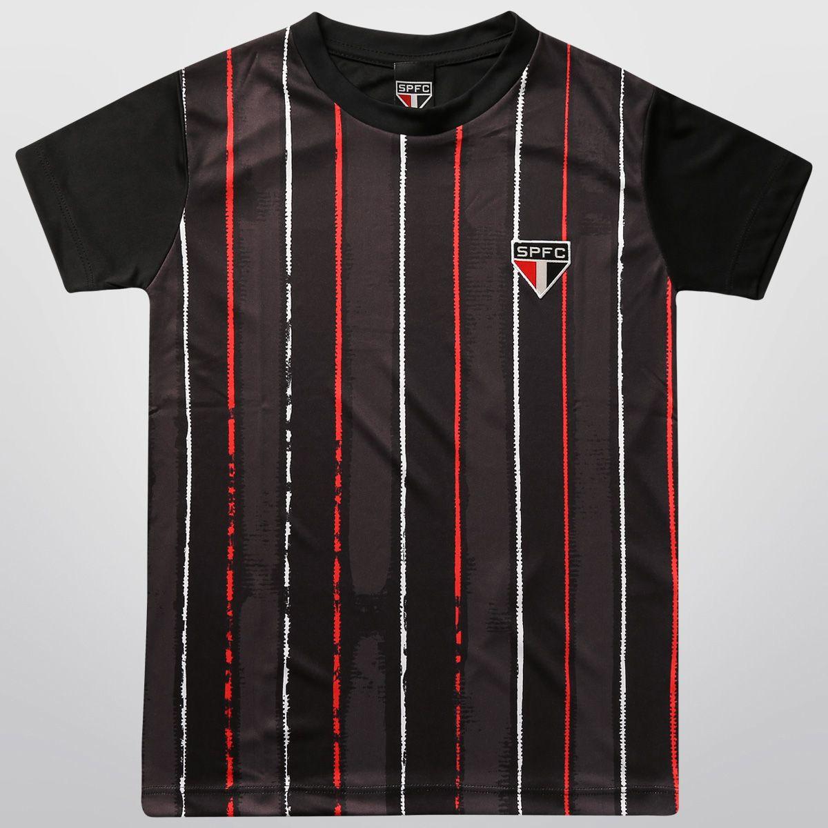 Camiseta São Paulo Deep Motion Juvenil
