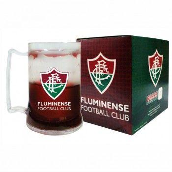 Caneca Incolor Gel Grená Fluminense