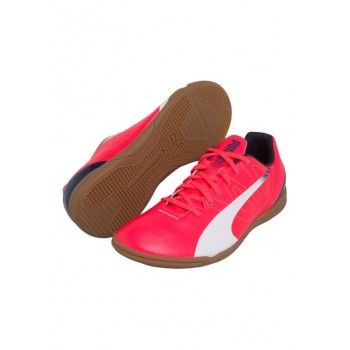 Chuteira Puma EvoSpeed 5.3 IT Jr Rosa 840b67def2d3d