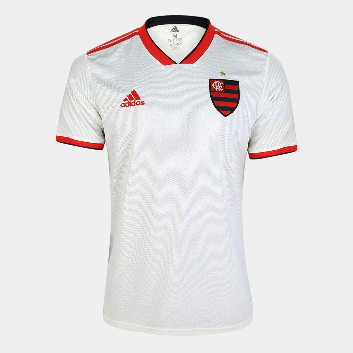 Flamengo II 2018 s/n° Torcedor Adidas Masculina - Camisa Branca
