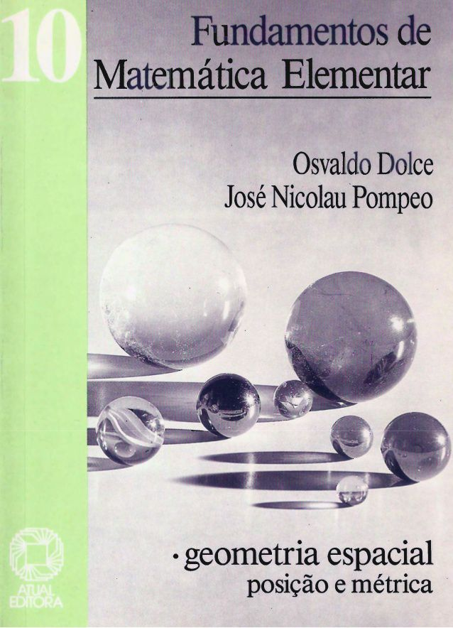 Fundamentos Da Matemática Elementar Volume 10