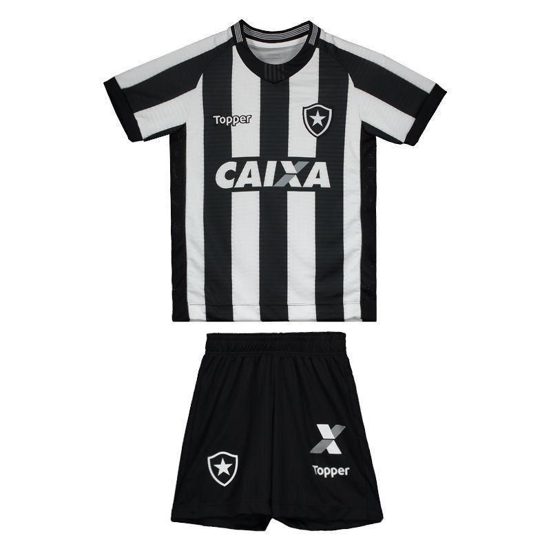Kit Infantil Botafogo Listrado Topper 2018