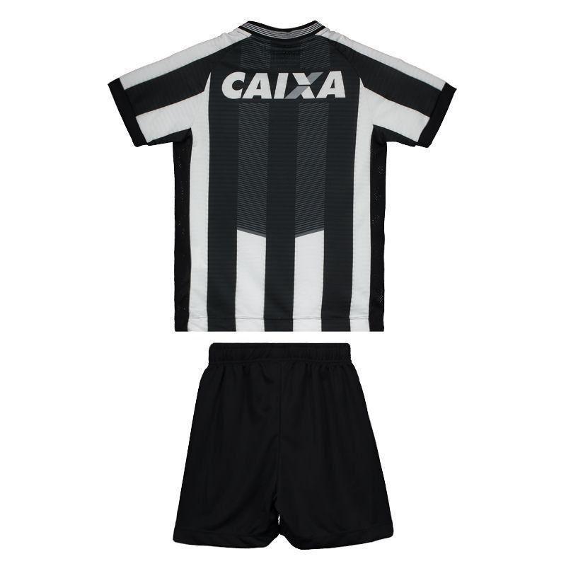 Uniforme Botafogo 1 Camisa, Calção e meião infantil Topper 2018